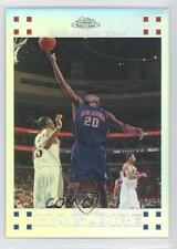 2007 Topps Chrome Refractor #75 Jamaal Magloire New Jersey Nets Basketball Card