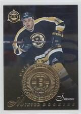 1997-98 Pinnacle Mint Collection Gold Team 26 Sergei Samsonov Boston Bruins Card