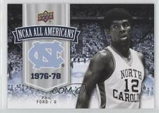 2010-11 UD North Carolina Basketball Blue & Silver 107 Phil Ford (UNC) Tar Heels