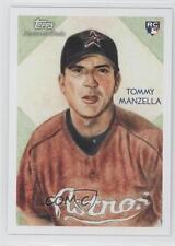 2010 Topps National Chicle Back #269 Tommy Manzella Houston Astros Baseball Card