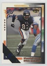 1992 Wild Card 5 Stripe #363 Wendell Davis Chicago Bears Football