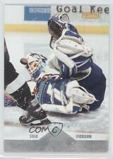 1996-97 Pinnacle Premium Stock #228 Eric Fichaud New York Islanders Hockey Card