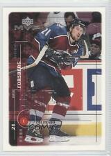 1998-99 Upper Deck MVP #51 Peter Forsberg Colorado Avalanche Hockey Card