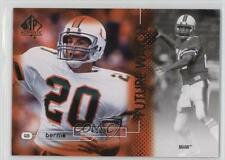 2011 SP Authentic #188 Bernie Kosar Miami Hurricanes Football Card