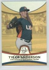 2010 Bowman Platinum Prospects Chrome Gold Refractor #PP29 Tyler Anderson Card