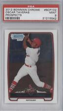 2012 Bowman Chrome Prospects BCP102 Oscar Taveras PSA 9 St. Louis Cardinals Card