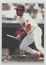 1996 Pacific Crown Collection #294 Eddie Murray Cleveland Indians Baseball Card