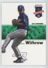 2008 TRISTAR PROjections Green #52 Chris Withrow Los Angeles Dodgers GCL Card