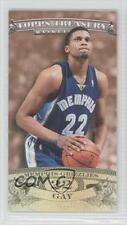 2008 Topps Treasury Mini Exclusives Bronze ME-RG Rudy Gay Memphis Grizzlies Card
