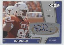 2009 SAGE Hit Autographs Silver #A36 Roy Miller Long Beach State 49ers Auto Card
