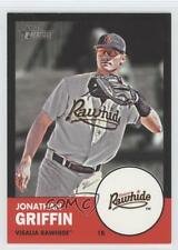 2012 Topps Heritage Minor League Edition Black Border #78 Jonathan Griffin Card