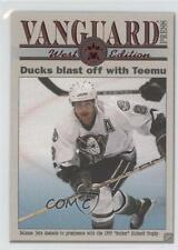 2000-01 Pacific Vanguard Press 2 Teemu Selanne Anaheim Ducks (Mighty of Anaheim)