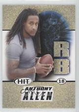 2011 SAGE Hit Gold #18 Anthony Allen Rookie Football Card