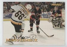 1997 Pinnacle Giant Eagle Mario's Moments #17 Mario Lemieux Pittsburgh Penguins