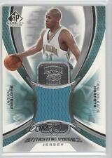 2005-06 SP Game Used Edition Authentic Fabrics Jersey AF-JM Jamaal Magloire Card