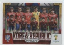 2014 Panini Prizm World Cup #24 Korea Republic Soccer Card