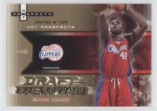 2006-07 Fleer Hot Prospects Draft Rewind #DR-EB Elton Brand Los Angeles Clippers