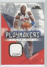 2004-05 Fleer Showcase Playmakers Jersey Gold #PM-BW Ben Wallace Detroit Pistons