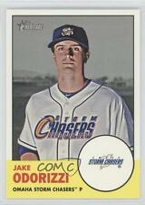 2012 Topps Heritage Minor League Edition #67 Jake Odorizzi Omaha Storm Chasers