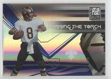2007 Donruss Elite Passing the Torch Blue PT-7 Archie Manning New Orleans Saints