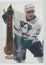 1994-95 Pinnacle #405 Robert Dirk Anaheim Ducks (Mighty of Anaheim) Hockey Card