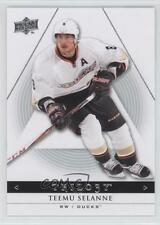 2013 Upper Deck Trilogy #4 Teemu Selanne Anaheim Ducks (Mighty of Anaheim) Card