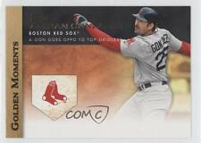 2012 Topps Golden Moments Series Two #GM-40 Adrian Gonzalez Boston Red Sox Card