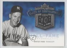 2005 Upper Deck Hall of Fame Class Cooperstown Silver #CC-WF2 Whitey Ford Card