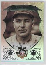 2014 Panini Hall of Fame Green Shield #21 Pie Traynor Pittsburgh Pirates Card