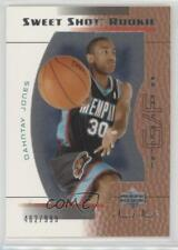 2003 Upper Deck Sweet Shot #110 Dahntay Jones Memphis Grizzlies Basketball Card