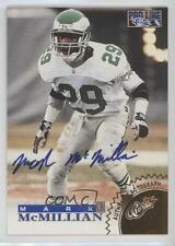 1996 Pro Line Autographs Gold #MAMC Mark McMillian Philadelphia Eagles Auto Card