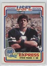 1984 Topps USFL #52 Steve Young Los Angeles Express (L.A. Express) (USFL) Card