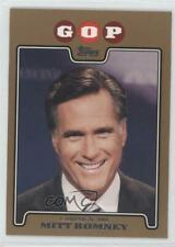2008 Topps Campaign Gold #C08-MR Mitt Romney Mike Rouse Baseball Card