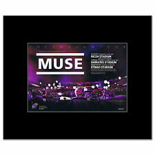 MUSE - 2nd Law Tour 2013 Matted Mini Poster - 13.5x21cm