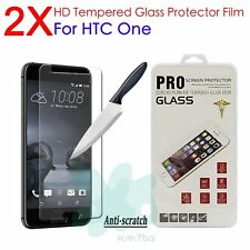 2X Real Tempered Glass Screen Protector Protection Guard Film for HTC A9 E9 S9