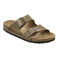 Birkenstock Arizona Sandals - Color Tabacco Brown - Natural Leather