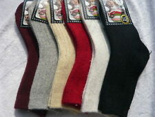 1 Pair Kids Casual Soft Comfortable Stripe Socks Winter Warm Wool Socks