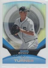 2011 Bowman Chrome Futures Refractor #24 Jacob Turner Detroit Tigers Rookie Card