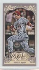 2012 Topps Gypsy Queen Mini #195 Mike Trout Los Angeles Angels Baseball Card