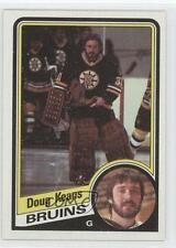 1984-85 Topps #4 Doug Keans Boston Bruins RC Rookie Hockey Card