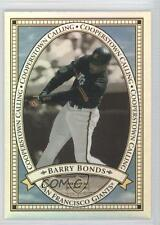2000 Upper Deck Cooperstown Calling #CC9 Barry Bonds San Francisco Giants Card