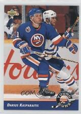 1992-93 Upper Deck #563 Darius Kasparaitis New York Islanders Hockey Card