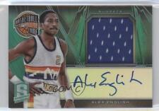 2013-14 Panini Spectra Hall of Fame Jersey Autographs #22 Alex English Auto Card