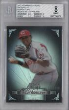 2012 Bowman Sterling Prospects Refractor #BSP20 Billy Hamilton BGS 8 Rookie Card