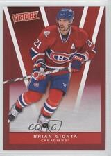 2010-11 Upper Deck Victory Red #100 Brian Gionta Montreal Canadiens Hockey Card