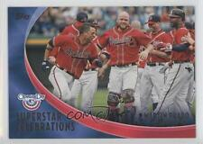 2012 Topps Opening Day Superstar Celebrations #SC-20 Martin Prado Atlanta Braves