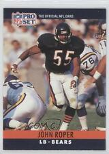 1990 Pro Set #56 John Roper Chicago Bears RC Rookie Football Card