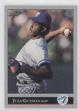 1992 Leaf #35 Juan Guzman Toronto Blue Jays RC Rookie Baseball Card