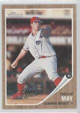 2011 Topps Heritage Minor League Edition #168 Trevor May Clearwater Threshers