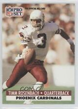 1991 Pro Set #265 Timm Rosenbach Arizona Cardinals Football Card